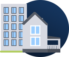 Loans for mixed use housing, single family, duplexes and HUD financing